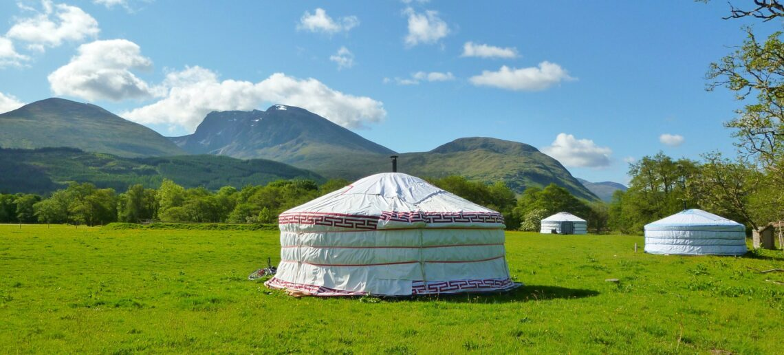Yurts View